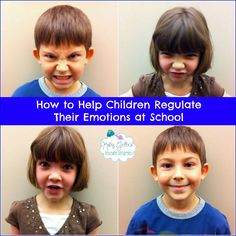 Helping Children Self-Regulate Their Emotions