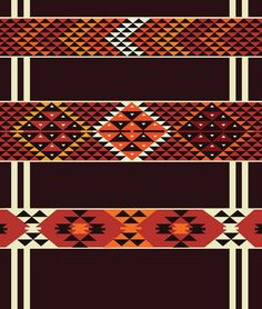 arabic tent pattern ~ the highest would be lovely for beadwork by antonia Bead Loom Patterns, Peyote Patterns, Beading Patterns, Cross Stitch Patterns, Aztec Patterns, Native Beadwork, Native American Beadwork, Southwest Quilts, Maori Designs