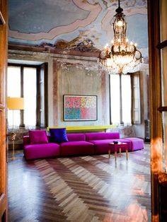 PINK Paris apartment