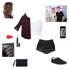 """jack and jack concert"" by synclairel ❤ liked on Polyvore featuring Levi's, Topshop, Wet Seal, Vans, Eos, women's clothing, women, female, woman and misses"