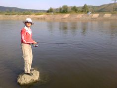 Fishing on the Olt river