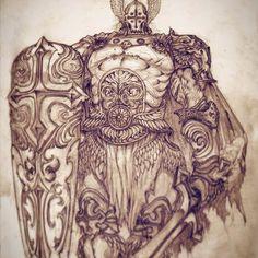 거신병 우리온 #스타토 #드로잉 #스케치 #그림 #fantasy #concept #character #design #pencil #sketch #draw #drawing #instaart #art #artwork #giant #stato