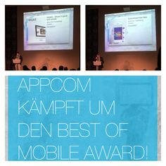 best of mobile award - frankfurt | appcom | shift change & siqas | best apps and websites | b2b enterprise solutions | productivity
