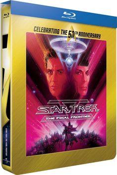 Star Trek V : L ultime frontière - Blu-ray STEELBOOK Director s Cut -