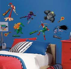 Batman Removable & Repositionable Wall Decals