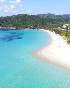 by http://ift.tt/1OJSkeg - Sardegna turismo by italylandscape.com #traveloffers #holiday   Dicono che sia tra le 10 spiagge più belle in assoluto della #Sardegna #Tuerredda oggi...  . . . #Paradise #nofilter #IamDJI #Phantom3Professional #Drones #DroneHer