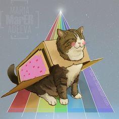 Нэко-кот. (http://animekomori.com)