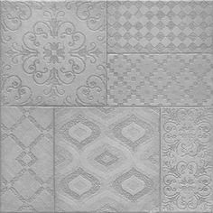 Marvelous Wood Floor Bathroom #3 - Grey Patterned Floor Tile