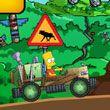 In acest joc online vei juca cu Bart din familia Simpson. Bart si-a construit un cart cu care vrea sa faca cateva cascadorii. Misiunea ta va fi sa faci cat mai multe cascadorii...