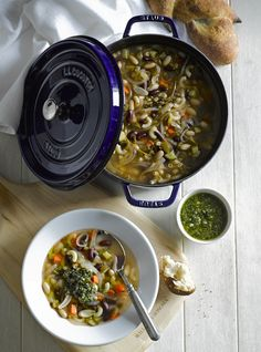 Soupe au Pistou from Mimi Thorisson's cookbook A Kitchen in France