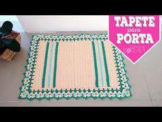 Crochê Tapete Tranças de Correntinhas Bicolor - YouTube