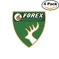 Forex Brasov Romania Soccer Football Club FC 4 Stickers Car Bumper Window Sticker Decal 4X4