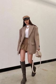 Preppy Outfits, Teen Fashion Outfits, Preppy Style, Cute Casual Outfits, Look Fashion, Stylish Outfits, Fall Outfits, Womens Fashion, Vetements Clothing
