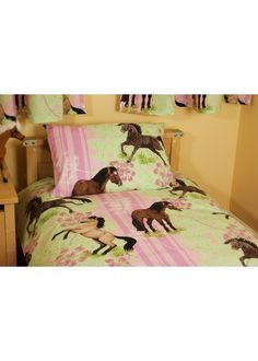 girls horse bedroom pink girls bedding with horses and ponies