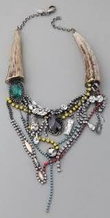 Billedresultat for statement tangled necklace