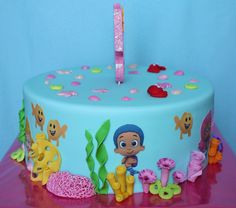 Bubble Guppies Cake 4 / Taart