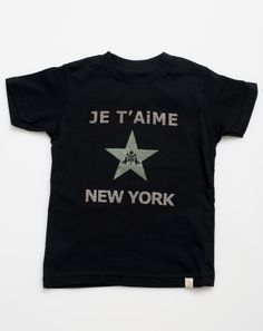 HUGE SALE! UP TO 75% OFF!! Atsuyo et Akiko Je T'aime Tee in Black
