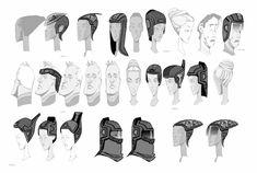 KERSWELLIAN: Tron Uprising: Headgear Concepts