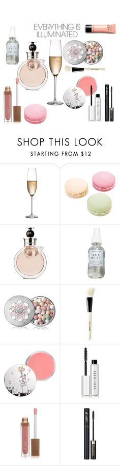 """60 Second Style: Weekend Beauty"" by matvevna ❤ liked on Polyvore featuring beauty, RogaÅ¡ka, Ladurée, Valentino, Herbivore Botanicals, Guerlain, Bobbi Brown Cosmetics, Lancôme, Sara Happ and 60secondstyle"
