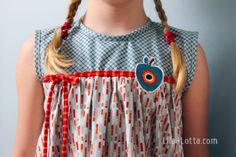 MyLeni Stickserie Cute Girl Dresses, Kind Mode, Cute Girls, Embroidery, Blouse, Clothes, Tops, Women, Sewing Patterns