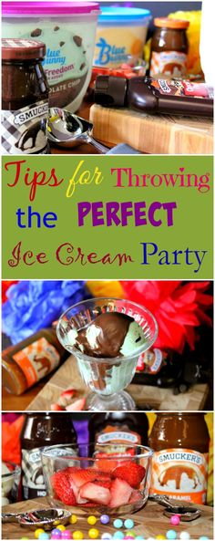 Awesome Tips for Throwing the Perfect Summer Ice Cream Party #ad #TopYourSummer #SoHoppinGood