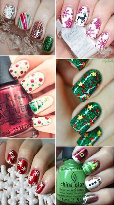 Christmas Holiday X-Max Festival Nail Art Desgins
