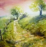 aquarelle paysage Marie Therese Klein
