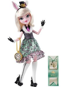 Ever After High Bunny Blanc Doll http://thedollprincess.com/shop/ever-after-high-bunny-blanc-doll/