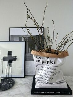 Le sac en papier - skandynawska papierowa torba :)