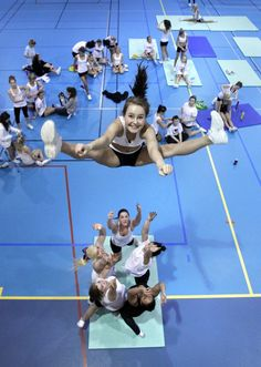 Cheerleading! #Basket toss #cute Your Body is a Wonderland http://pinterest.com/wineinajug/your-body-is-a-wonderland/