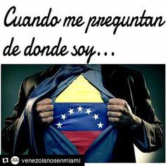Con el tricolor en el pecho #Repost @venezolanosenmiami ・・・ 💛💙❤️