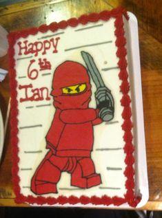 Lego ninjago #birthday #cake