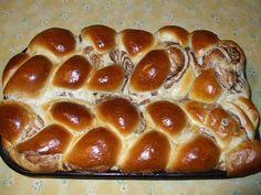 Az enyém így néz ki!! Hot Dog Buns, Hot Dogs, French Toast, Deserts, Food And Drink, Pizza, Bread, Breakfast, Cakes