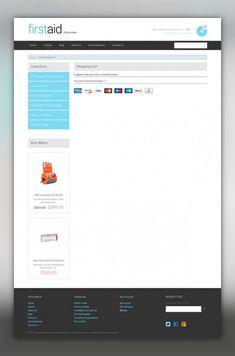 Ambulance Responsive Shopify Theme E-commerce Templates, Shopify Themes, Medical Templates, Ambulance Templates