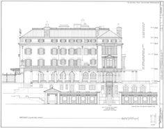 Kykuit, the Rockefeller Estate - Historic Hudson Valley - NorthEast Elevation