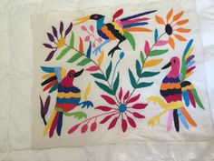 Mantel individual de otomi Life in Color