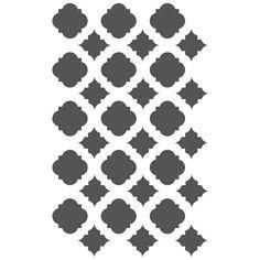 Moroccan Stencils Template For Crafting por JboutiqueStencils                                                                                                                                                                                 Más