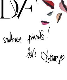 Embrace prints! love Diane