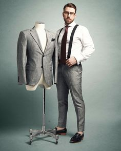 Sexy Guys, Sexy Men, Mens Braces, Dark Color Palette, Suspenders, Mens Suits, How To Wear, Shirts, Instagram