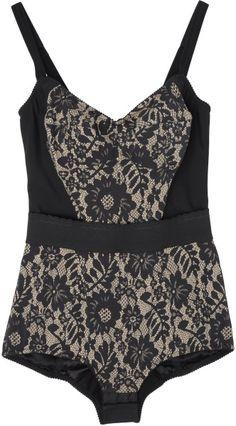 019f7328efd Dolce  amp  Gabbana Bodysuit in Black