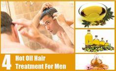 4 Hot Oil Hair Treatment For Men
