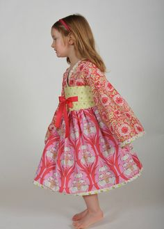 Holiday Kimono Dress,
