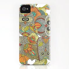 4 Owls iPhone & iPod Case by Valentina - Owl Phone Cases, Ipod Cases, Baby Iphone, Iphone 4s, Owl Always Love You, My Love, Iphone Cover, Ipad, Cute Owl