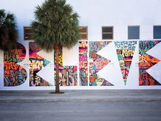 Local activists are using street art to revitalize a Wynwood school's arts program. Although the organizers didn't want graffiti (seeing it as an open invitation for anybody with a spray can), the artist bombarded a wall with Miami-centric tags and then whited everything out except for the BELIEVE, elevating […] Click here to view original … … Continue reading →