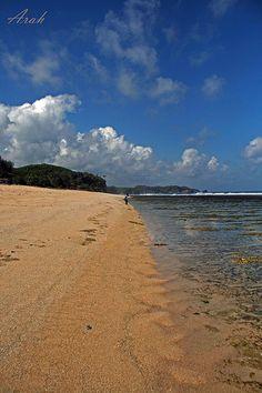 Sepanjang Beach, Gunung Kidul, Yogyakarta, Indonesia