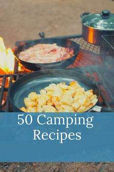 Do you love the great outdoors? Then this is the eBook for you. In it, we've compiled 50 recipes that are perfect for your next camping adventure - from breakfast to dessert! All the best recipes gathered into one place so you don't have to go through dozens of websites for inspiration. Camping Meals, Tent Camping, Camping Hacks, Camping Essentials, Camping Accessories, Budget Travel, The Great Outdoors, Good Food, Camping Products