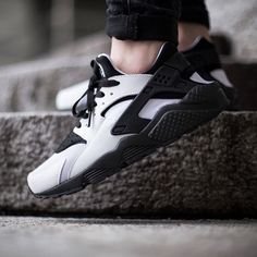 """Nike Wmns Air Huarache Run ""White/Black"" drops tomorrow, Thursday, 5th February 2015 instore"