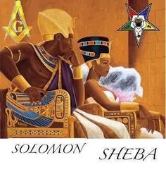 Solomon and Sheba Solomon And Sheba, King Solomon, Black Art Pictures, Star Pictures, Prince Hall Mason, Masonic Art, Virtuous Woman, Daughter Of God, Daughters