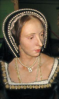 Anne Boleyn, Second Wife of Henry VIII, Waxwork at Warwick Castle by lisby1, via Flickr