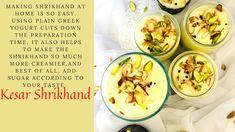 Gujarati Recipes, Plain Greek Yogurt, Fresh Rolls, Ethnic Recipes, Easy, Food, Essen, Meals, Yemek